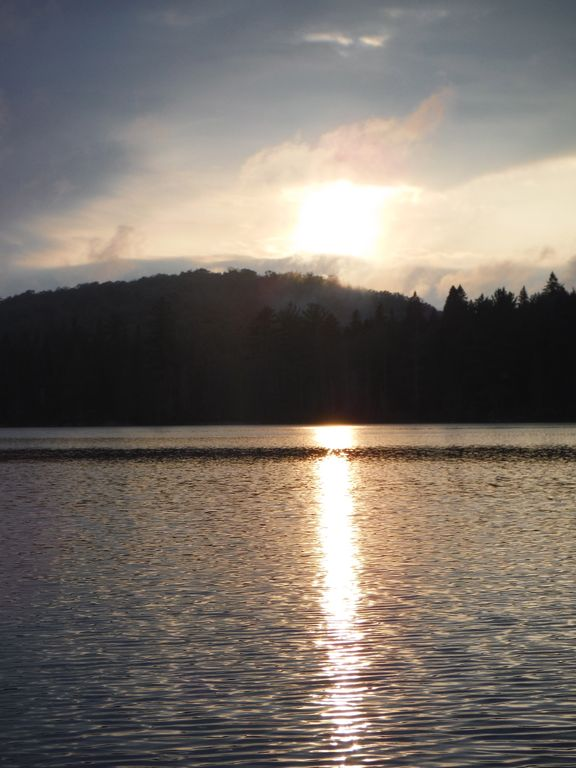 Queer Lake Sunset